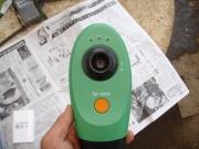 ホウレン草栽培圃場にてガーデンカメラ設置