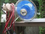 スーパービバホームで買ってきた車内用12V扇風機(1680円位?)