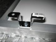 スーパービバホームで買った凸型ステー(250円*4)