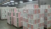 市場ではイチゴの出荷が最盛期